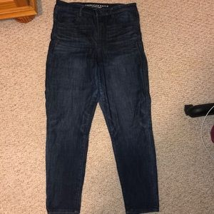 American eagle dark Ne(x)t level stretch jeans